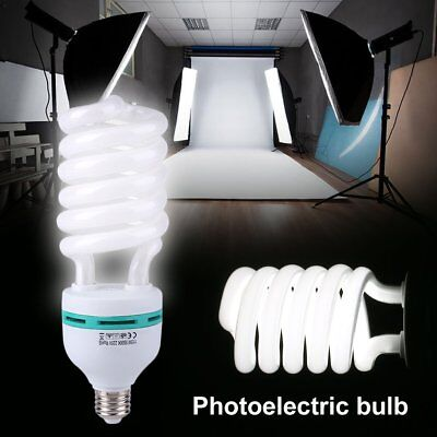 E27 Photography Daylight Lamp Bulb Studio Accessory High Brightness White 210V