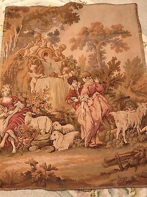 Antique Victorian Tapestry