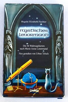 Mystisches Lenormand Set - 36 Card Deck + Guidebook Regula Elizabeth Fiechter