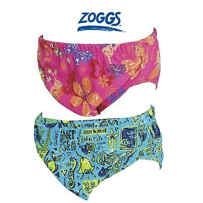 Zoggs Adjustable Swim Nappy Blue or Pink One Size fits 3-24month Swim Class Pool