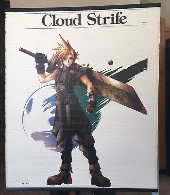 Final Fantasy VII 7 Window Blind Cloud Strife