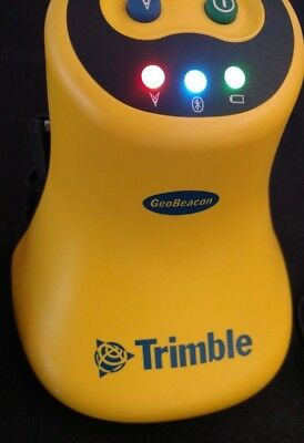 Trimble Geobeacon tested works includes belt case serial cable and power charger