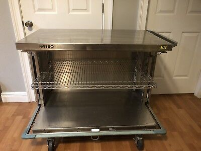 Metro Stainless Steel Cart Cabinet Restaurant Food Lab Medical Hospital Bar