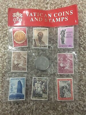 Vatican Coins And Stamps