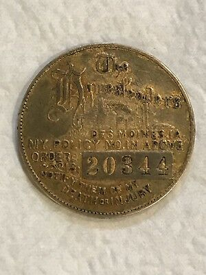 Vintage Good Luck Token Swastika Homesteaders Policy Coin
