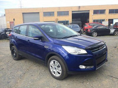 2014 Ford Kuga STAT. WRITE OFF Blue Manual M Wagon