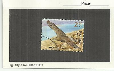 Israel 2002 Birds of the Jordan Valley Golden Eagle Single Fine Used