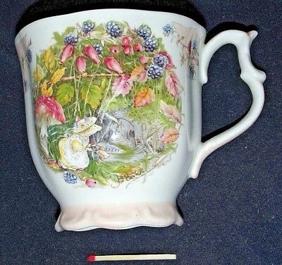 Royal Doulton The Brambly Hedge BEAKER  AUTUMN Collection 1983