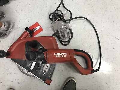 HILTI DCH 300 Electric Diamond Cutter, Only Used Two Times