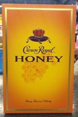 1 Crown Royal Honey Retired Limited Edition Complete Collectors Sealed Box
