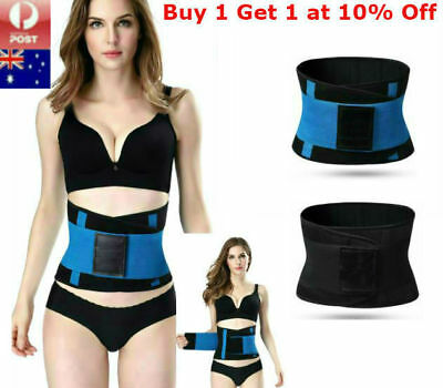 Xtreme Power Thermo Waist Trainer Belt Body Hot Shaper Corset Girdle Tummy