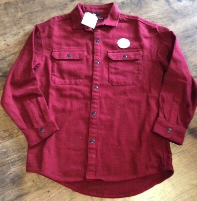 Boys Red Shirt. Size 8.