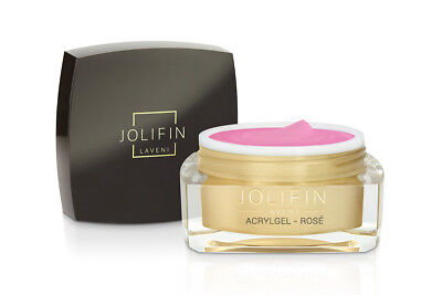 Jolifin LAVENI AcrylGel - rosé 15ml UV