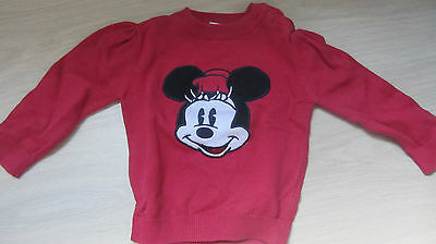 ensemble MICKEY jupe et pull taille 68