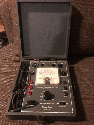 Vintage Accurate Instruments Company Utility/Tube Tester Model 161