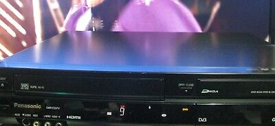 Panasonic DVD Record / play / VCR Combo Player, HDMI, Digital Tuner with Remote