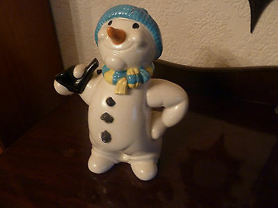 "Paul Cardew ""The Snowman"" 10 inch Novelty Teapot"