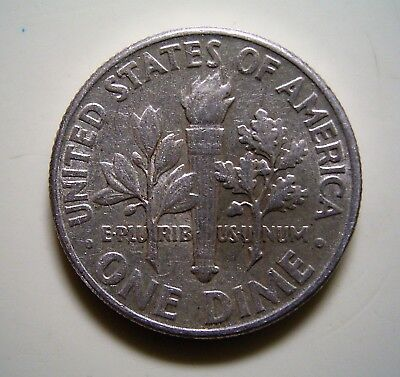 USA 1963D Dime 10c Coin,...Very Good Circulated Condition ...                *TC