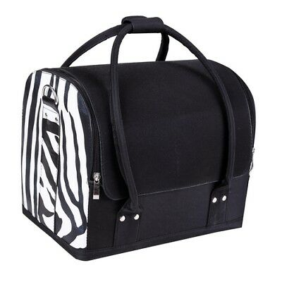 Crewe Zebra Large Vanity Bag JB06