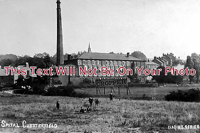 DR 233 - Mason's Tobacco Factory, Spital, Chesterfield, Derbyshire c1907