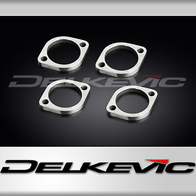 Suzuki Gsx1400 01-9 Exhaust Flanges & Collets Set Of 4 Oem Compatible Downpipes