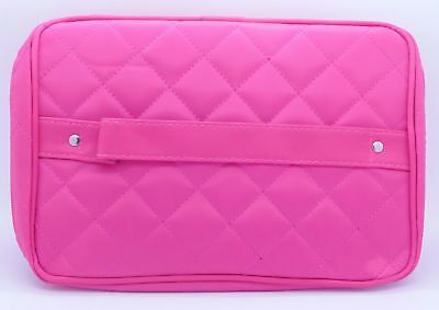 Red Spot Vanity Case Fuchsia