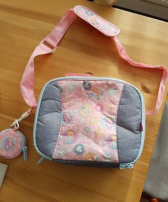 baby born storage bag/booster seat