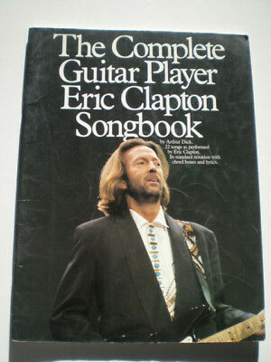 ERIC CLAPTON Guitar Player Songbook 1991 Tab TABLATURE Method GUITARRA