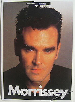 MORRISSEY Postcard Vintage 'FACE' OLIVER BOOKS 1992 UK Retail Mint rare OB042