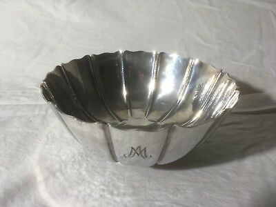 Asprey London Vintage Sterling Silver Bowl 1973