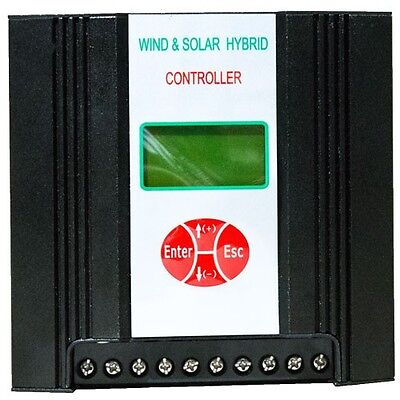 Hybrid Charge Controller All Round, BOOST Wind 400W, Solar 150W, 12V (or 24V*)