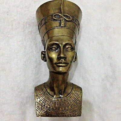 Antique  Egyptian Bronze Pharaohs Statue ancient Of king 632 g