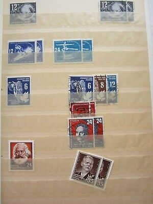 *2029* Briefmarkensammlung DDR 1949 -1962 1 Album