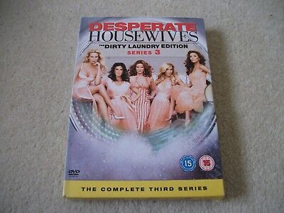 Frasier dvd box set, first season and Desperate  housewives series 3 box set.