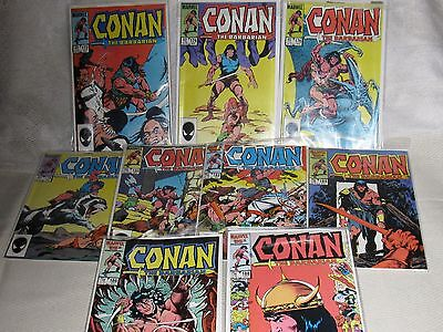 Conan The Barbarian Comics, Issues #171 - 188 (9.4+ Graded Group)