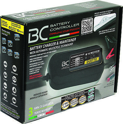 Carica Batterie Litio Moto Universale Bc Battery Controller Duetto Litio Piombo