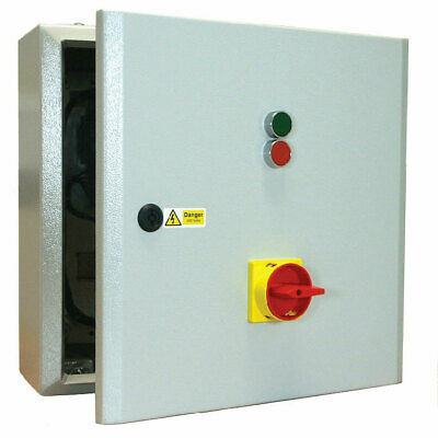 Star Delta Starter 15kW 415V Coil with Isolator