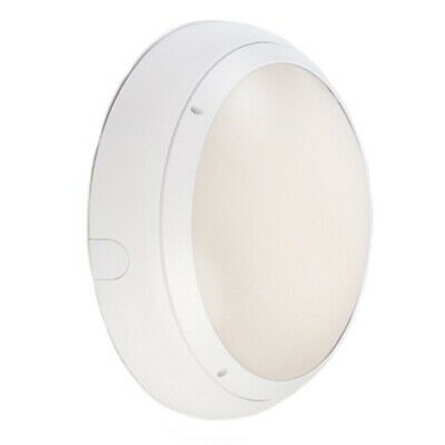Ansell Vision 3 20w LED  IP65 White Emergency Bulkhead Light