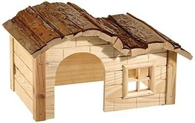 Kerbl Nature Plus House With Gently Curved Roof, 30 X 20 X 20 Cm