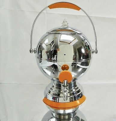 Art DECO MANNING BOWMAN BALL  BAKELITE, CHROME Coffee Maker.  visakay