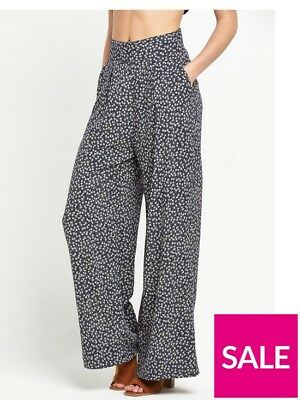 Denim & Supply by Ralph Lauren High Waisted Wide Leg Pant - Alonzo Floral Size 8