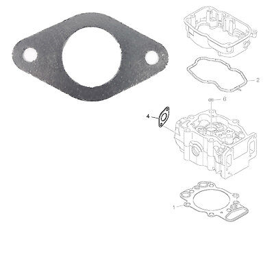 Exhaust Intake Manifold Gasket Seal With Graphite Fits Scania P.g.r.t., Scania 4