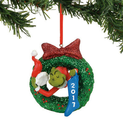 NEW~Dept 56~The Grinch 2017 Ornament~Dated~40557460D