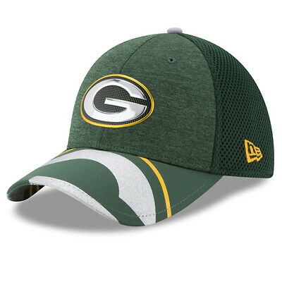 Green Bay Packers Cap - New Era 39 Thirty Cap - NFL - American Football - Neu