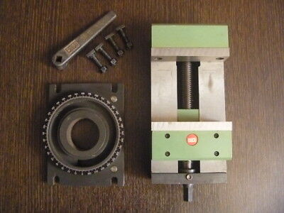 Vise(Ord 761310)and Base(Ord 761320) Emco Super 11 Lathe and FB 2 Mill