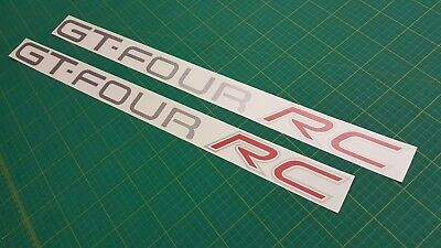 Toyota Celica GT-Four RC side decals 640mm stickers graphics GT4 ST185 rally JDM