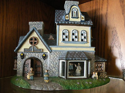 Partylite OLDE WORLD VILLAGE CANDLE SHOPPE #1 in series