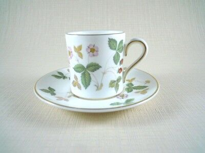 Wedgwood Wild Strawberry Coffee Can And Saucer