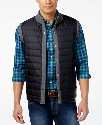 Barbour Essential Gilet Men's Quilted Vest NWT Mid Grey Large MSRP $149