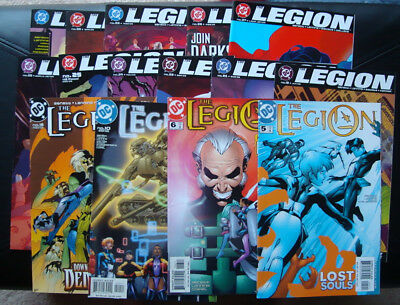 The Legion (DC 2002) Comics lot, 15 issues in all - See listing for issue #'s